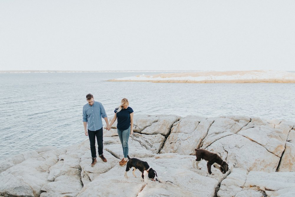 best maine engagement photographer