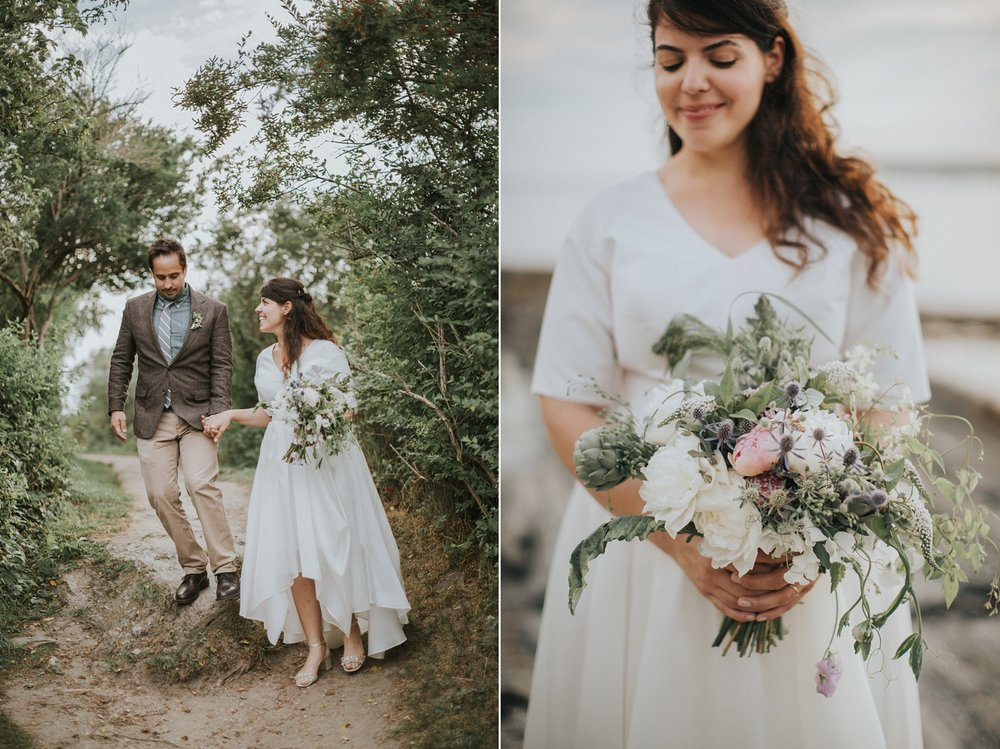 kettle cove maine elopement