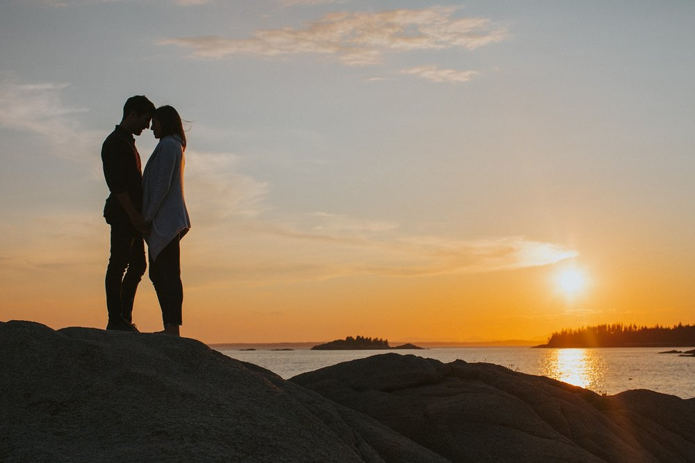 stonington maine engagement photographer maine engagement session