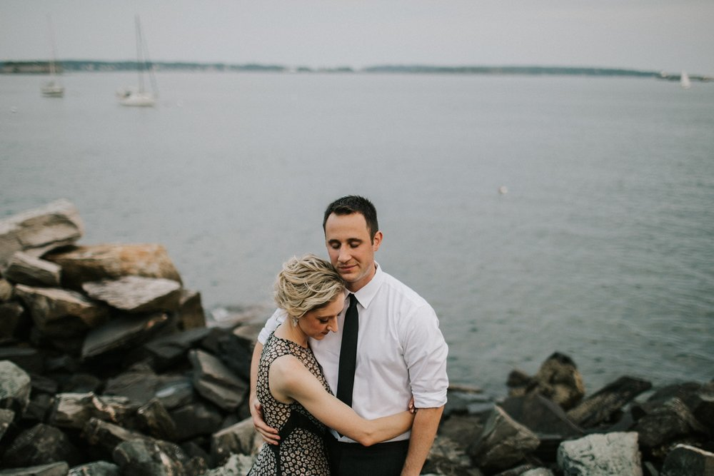 Portland Maine Engagement Session