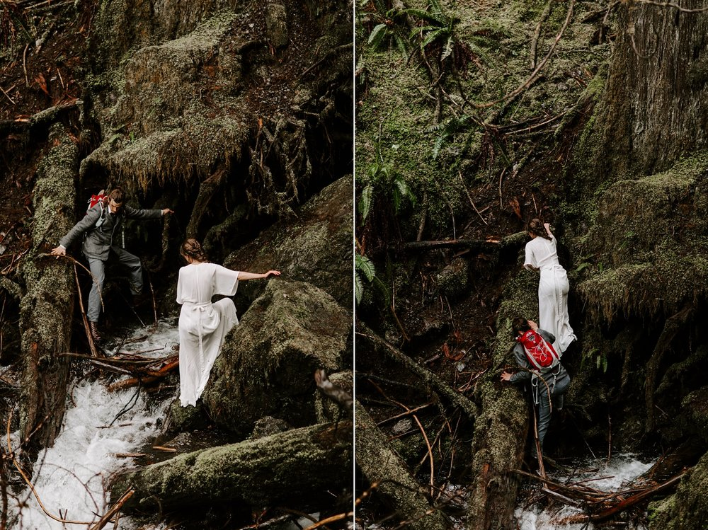 Olympic National Park Elopement,