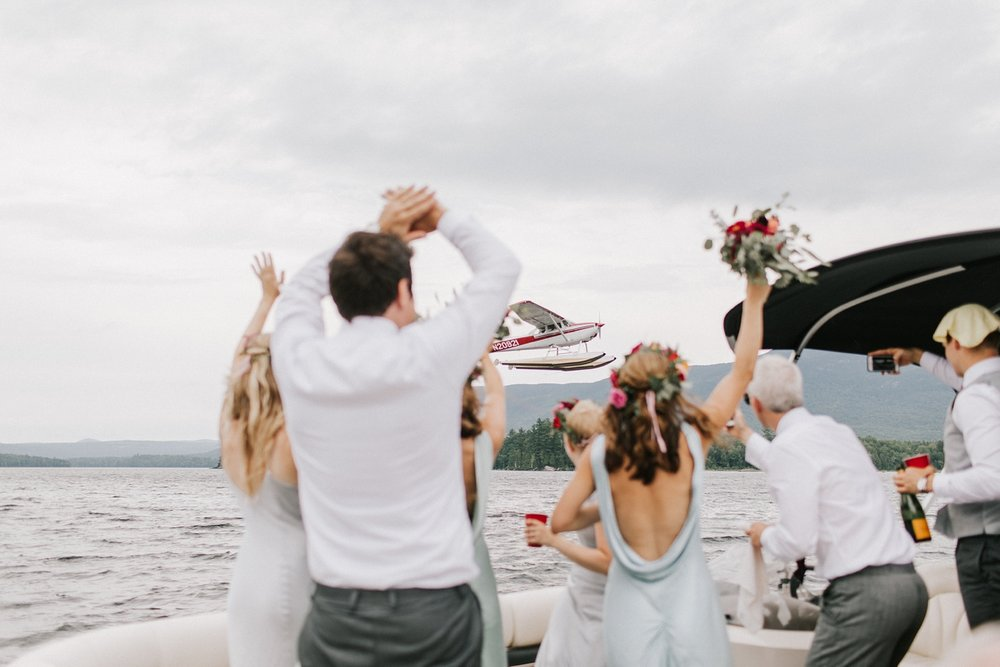 Maine Lake Wedding
