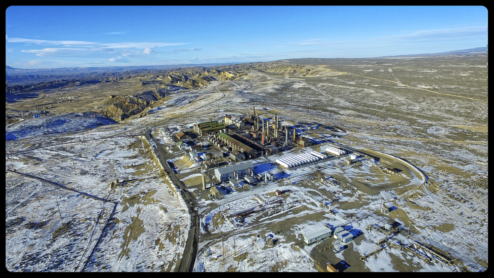 Elk Basin Natural Gas Processing Plant
