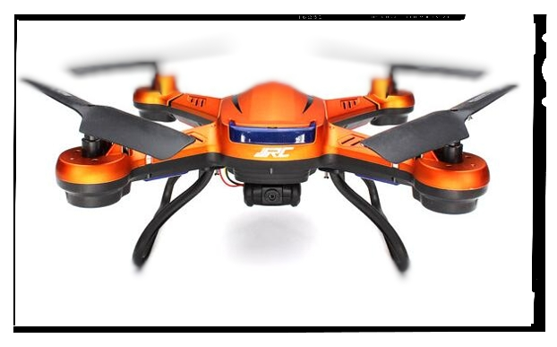 The JJRC H-12 comes in three colors: this Texas orange, white and black.