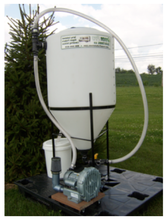 Compost tea brewer by GreenPro Solutions