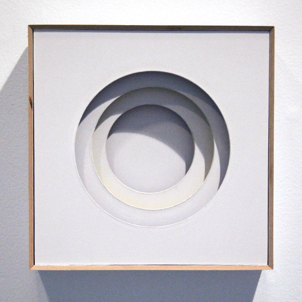 Reflected colour: concentric circles, 2009