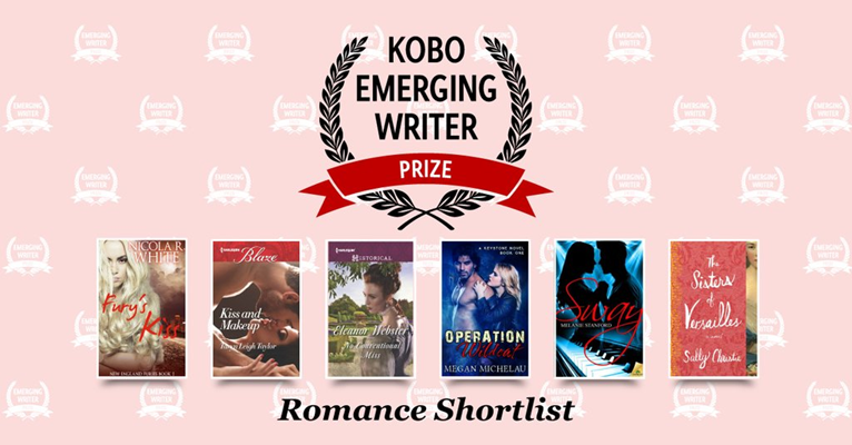 Proud to be on the Romance Shortlist for the KOBO EMERGING WRITER PRIZE for my debut Harlequin Blaze, KISS AND MAKEUP