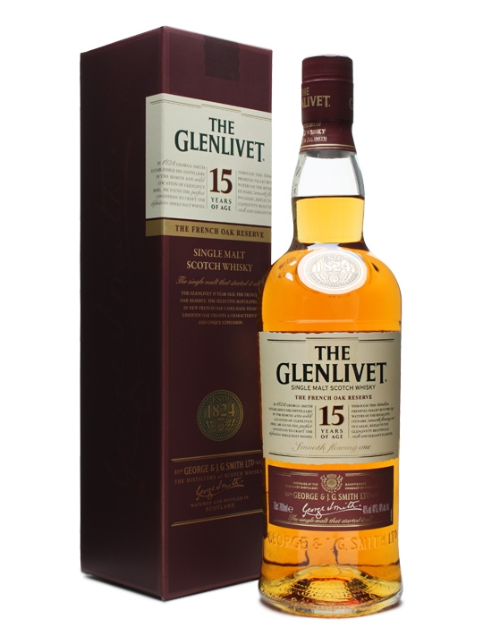 The Glenlivet 15 anos French Oak Reserve