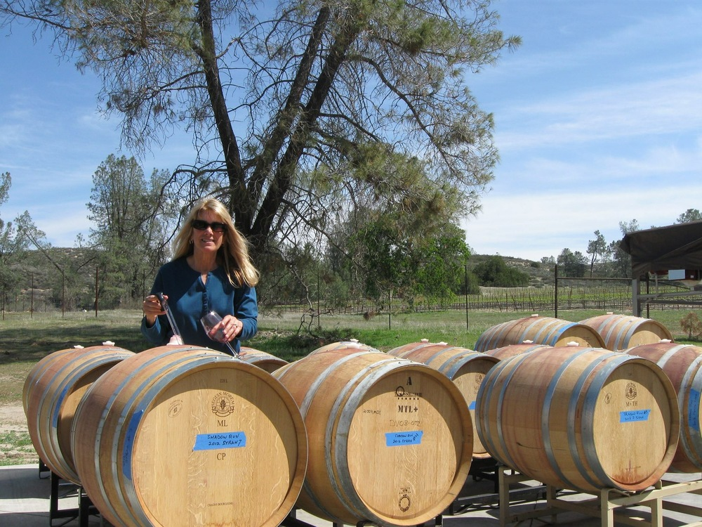 Shadow Run's winemaker, Susan Evans