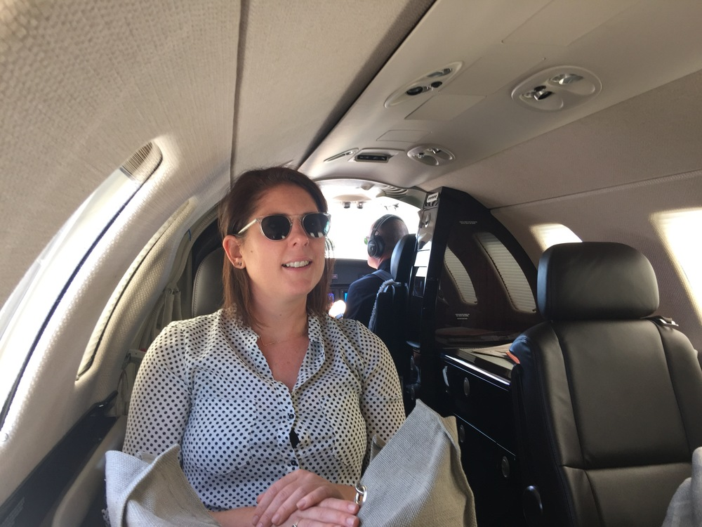 Project Architect Meredith Thomson on her way to Beverly Hills for the day!