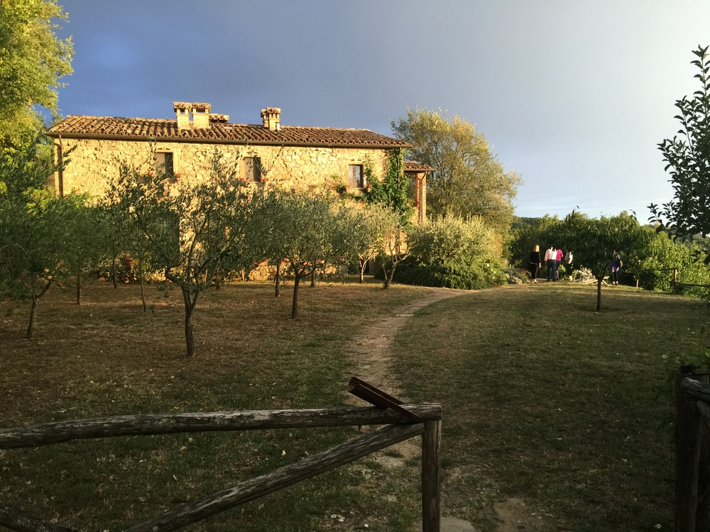 La Pietra - our farmhouse compound in Umbria