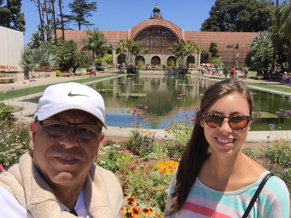 MC and Tiffany at Balboa Park