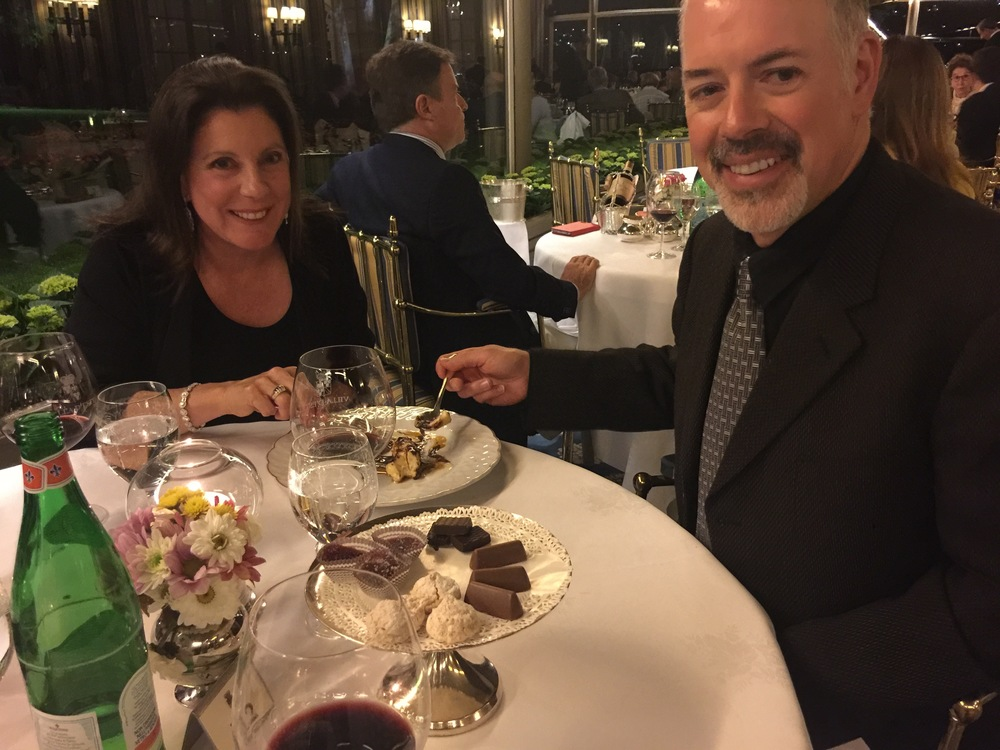 Dinner at the Villa d'Este