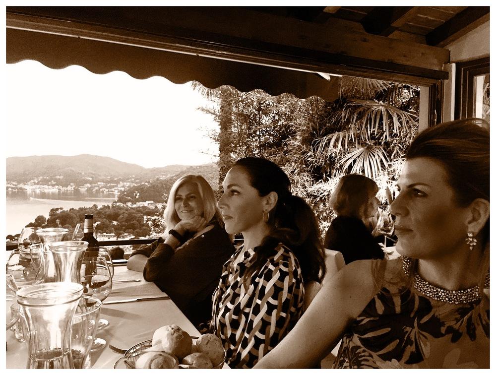 The ladies at Il Gatto Nero.