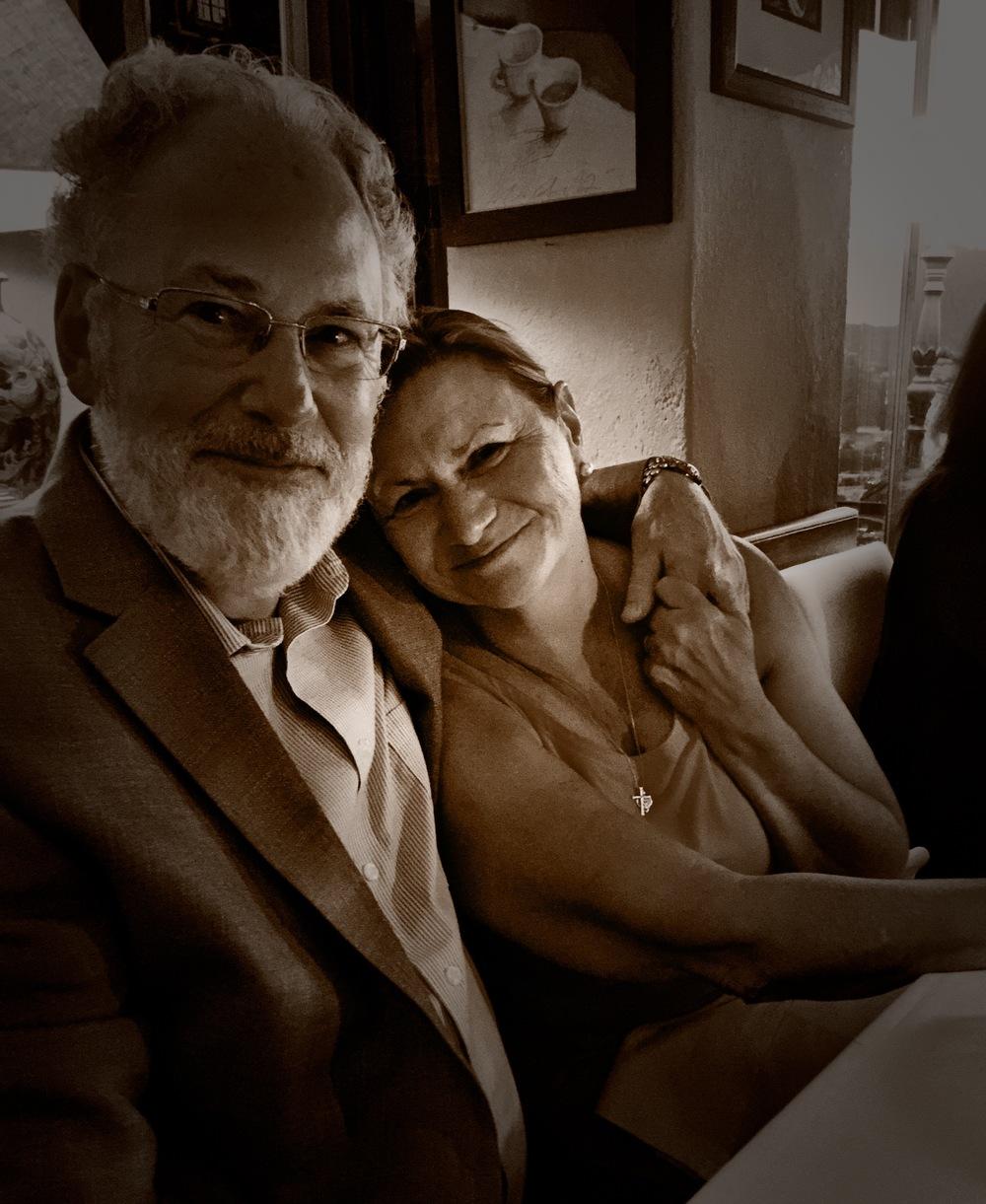 Philip and Martha Weiner at the Il Gatto Nero