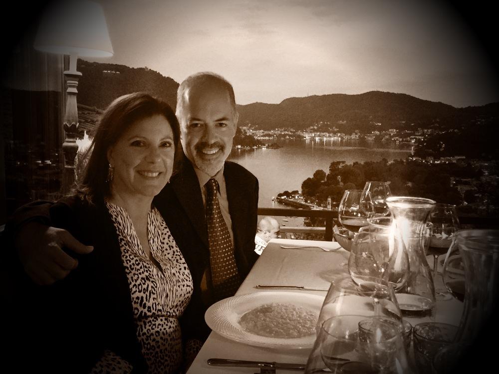 Diane and John Whittaker at Il Gatto Nero