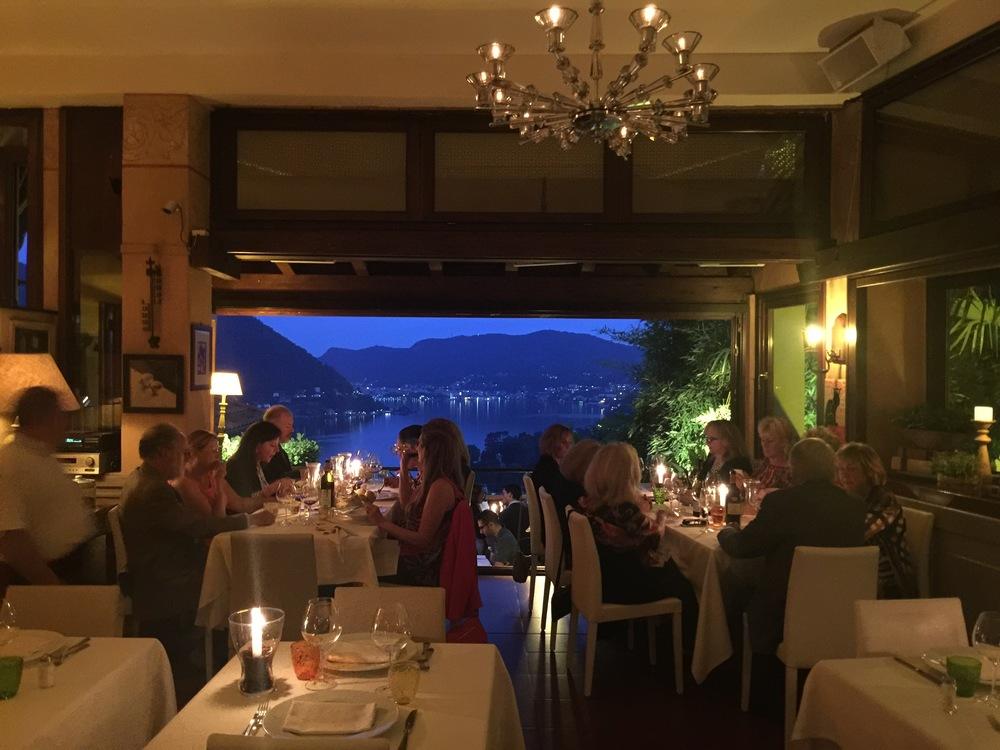 Dinner at Il Gatto Nero