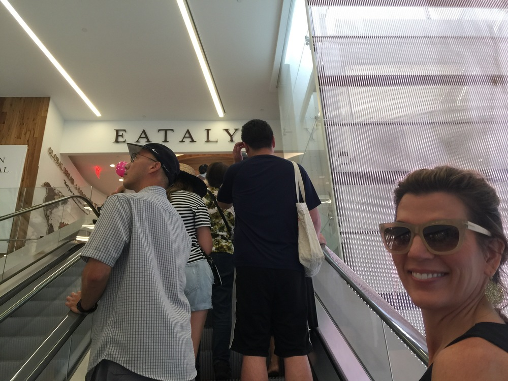 On our way to the new Eataly