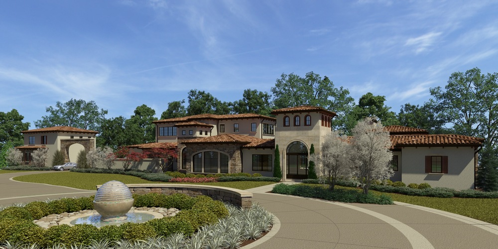 Candelaria Design home just ready to break ground in Kansas City