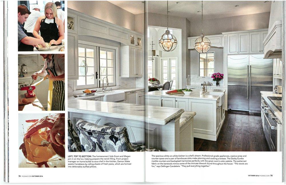 Phoenix Home & Garden October 2016: Gracious Design & Kindred ...