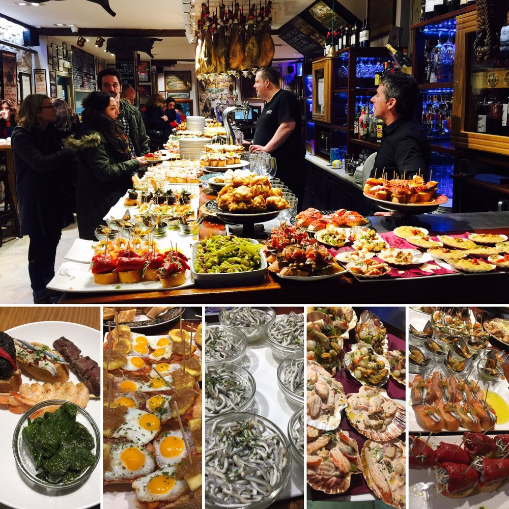 Tapas are definitely on tap when in San Sebastian.