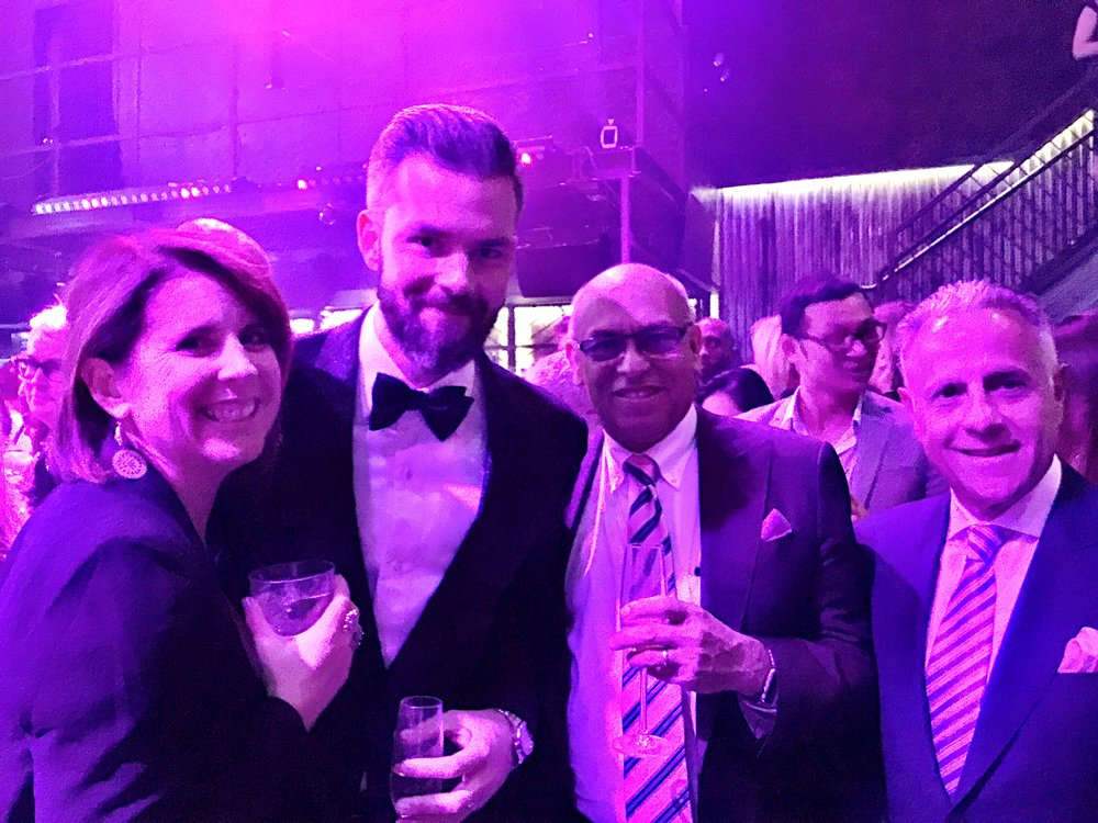 Enjoying the premier of Million Dollar Listing in NYC