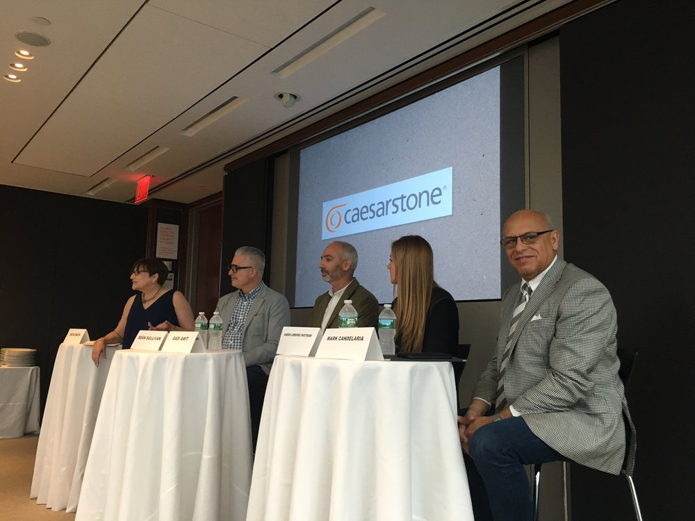 MC at Caesarstone Design Panel at Hearst Publishing, NYC