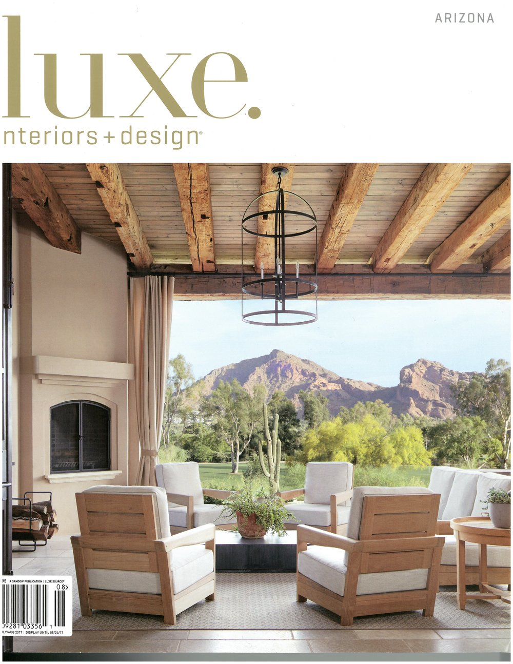 Luxe Interiors And Design July/August 2017: Desert Idyll