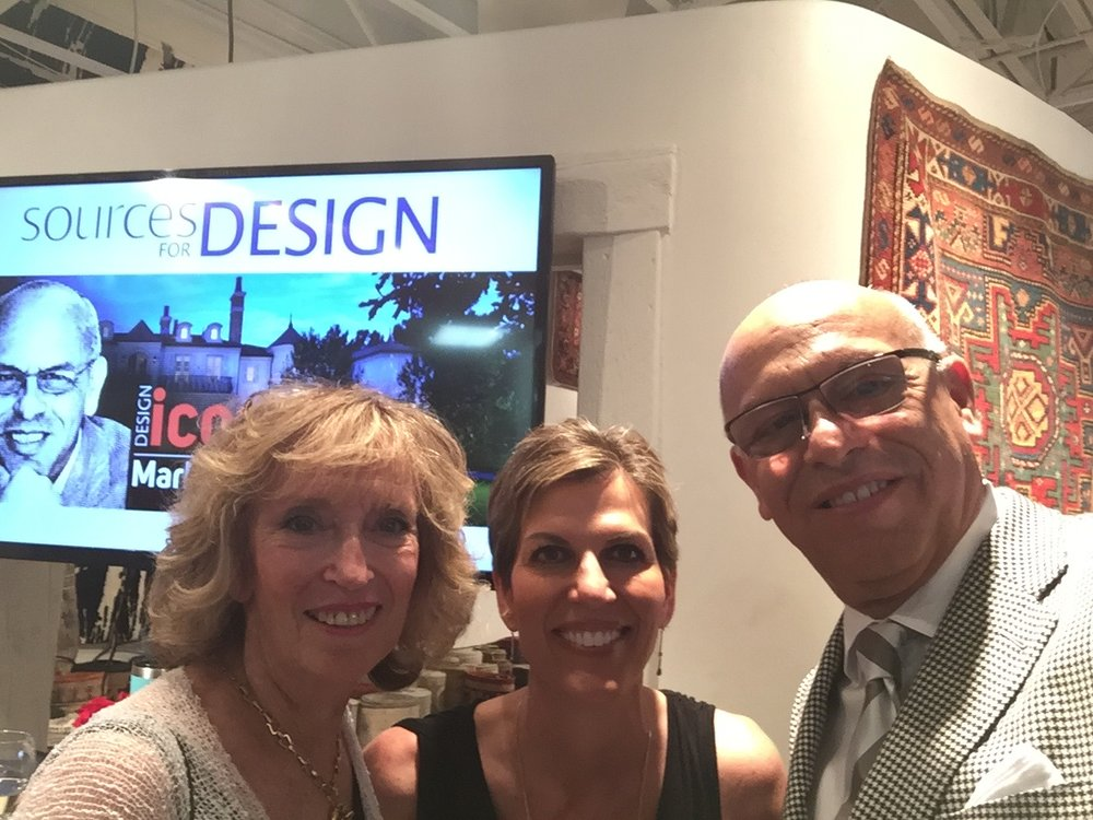 Phyllis, Isabel and MC at the Design Icon Event 2017
