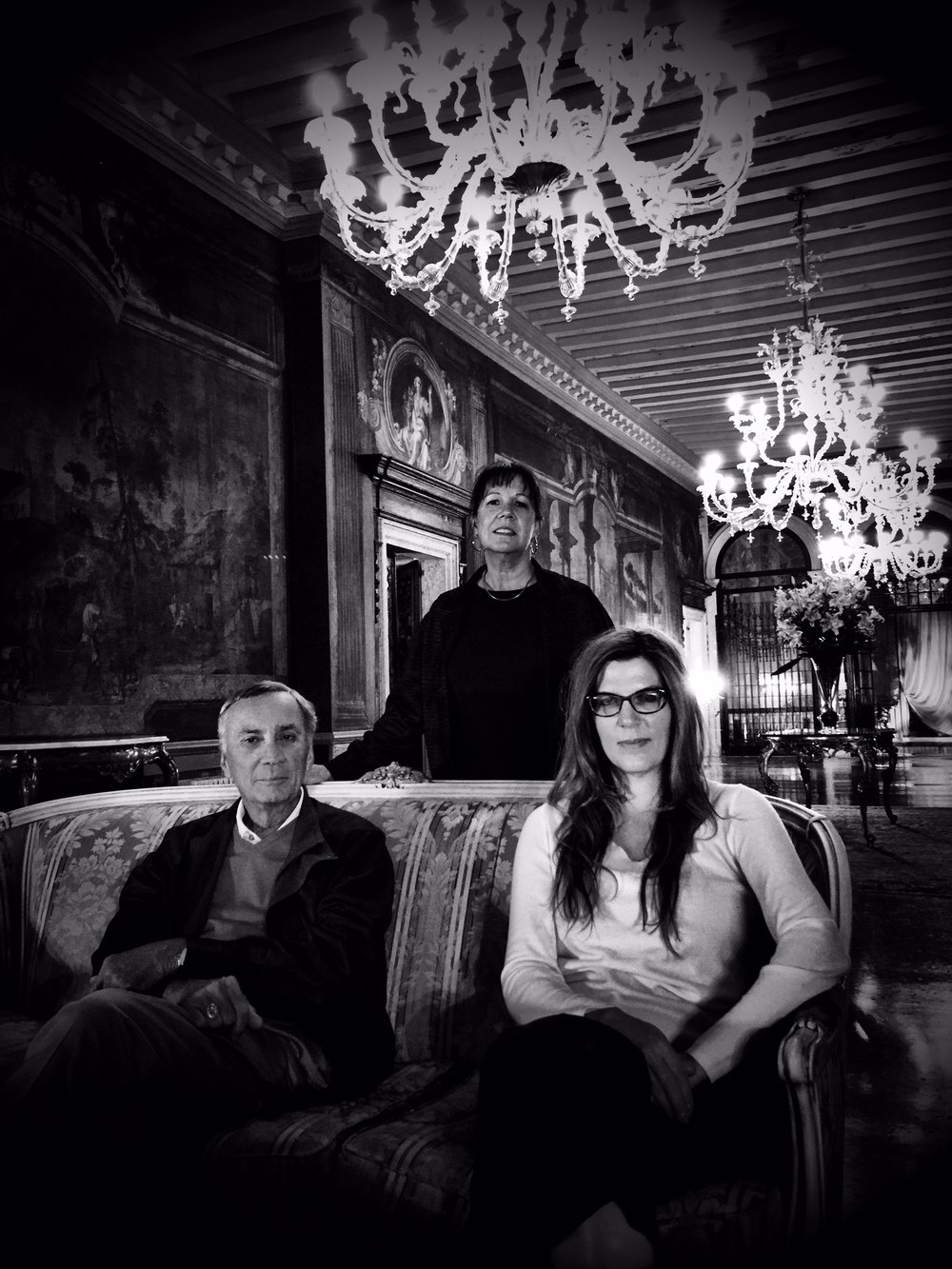Phil and Renee Giltner with isabel in Venice, Italy 2015