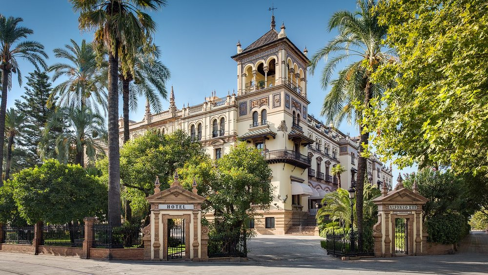 Our home in Seville - The Hotel Alfonso