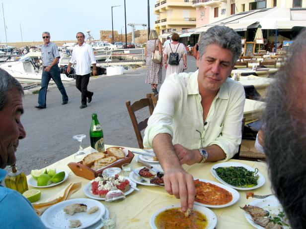 Anthony Bourdain in San Debastian
