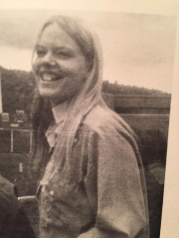 My friend Laurie in 1978 Durango High School