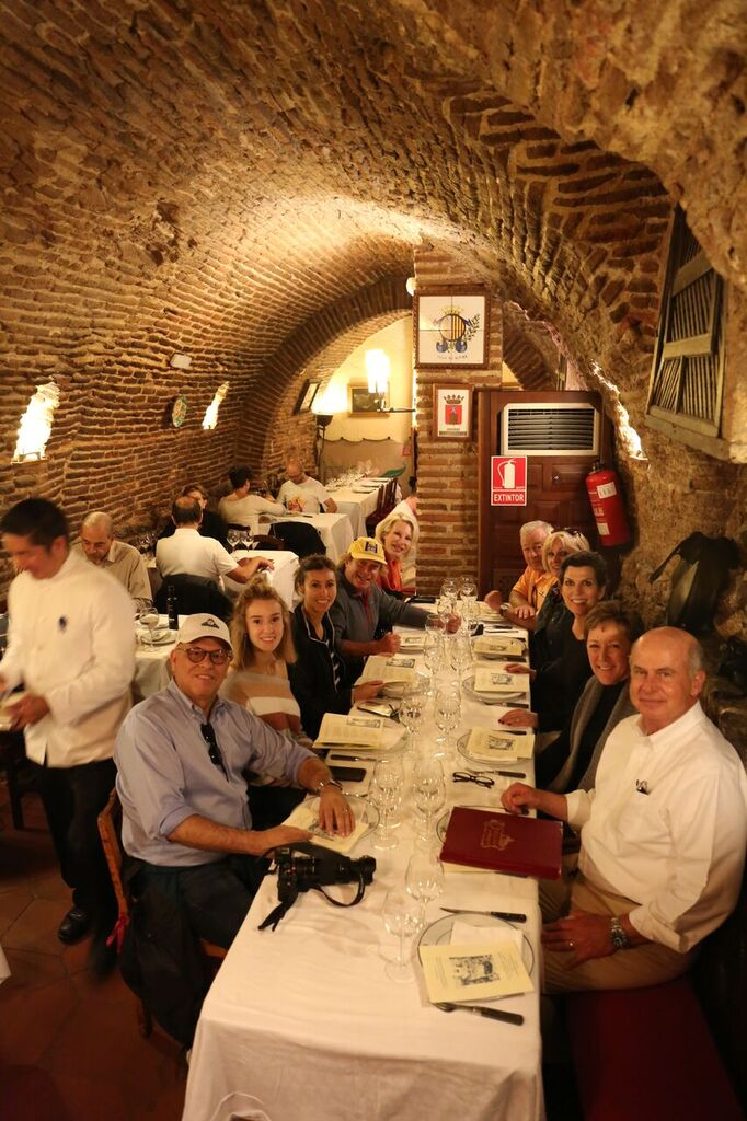 Dining at Sobrino de Botin - the oldest restaurant in the world!