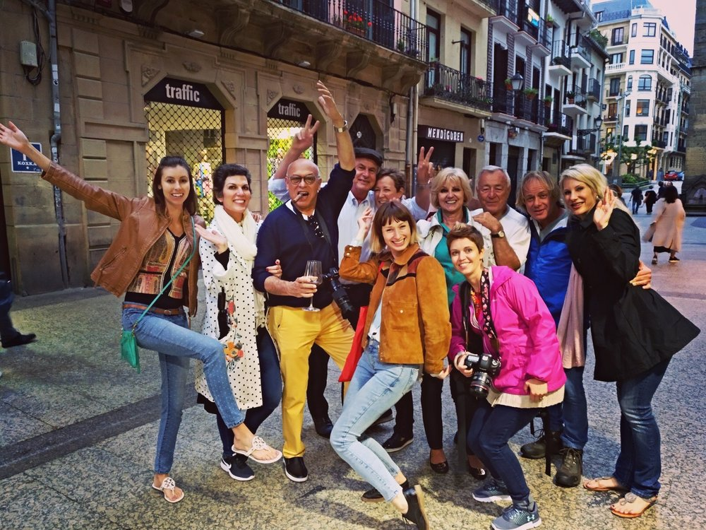 On our pintxos / tapas tour with Devour Tours in San Sebastian