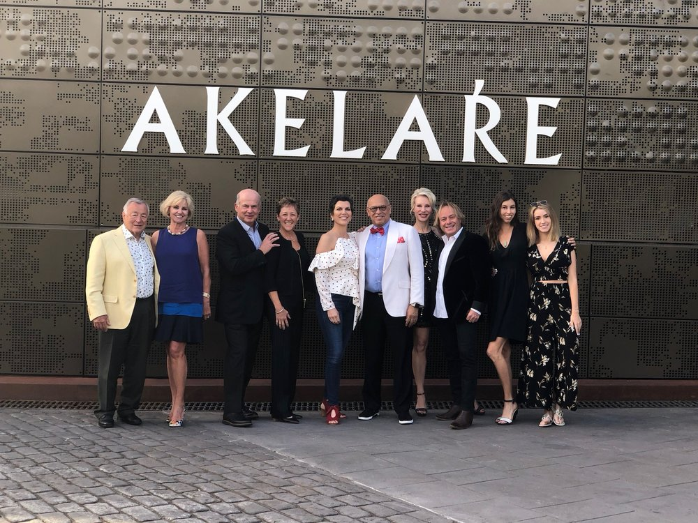 The Spain 2018 Travelers at Akelare