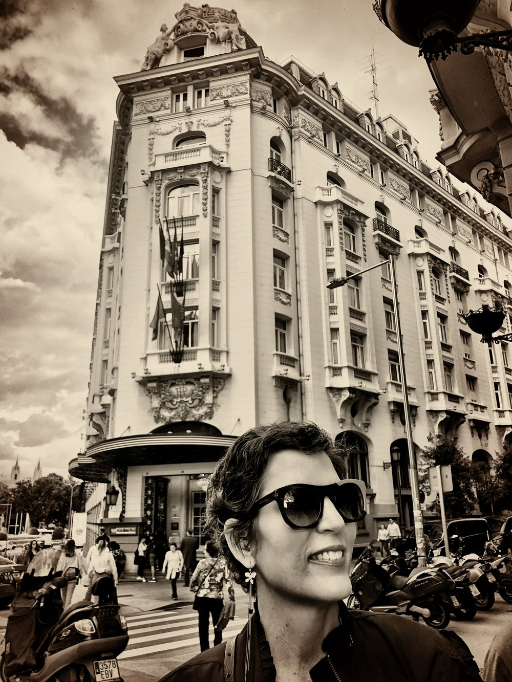 Isabel in Madrid