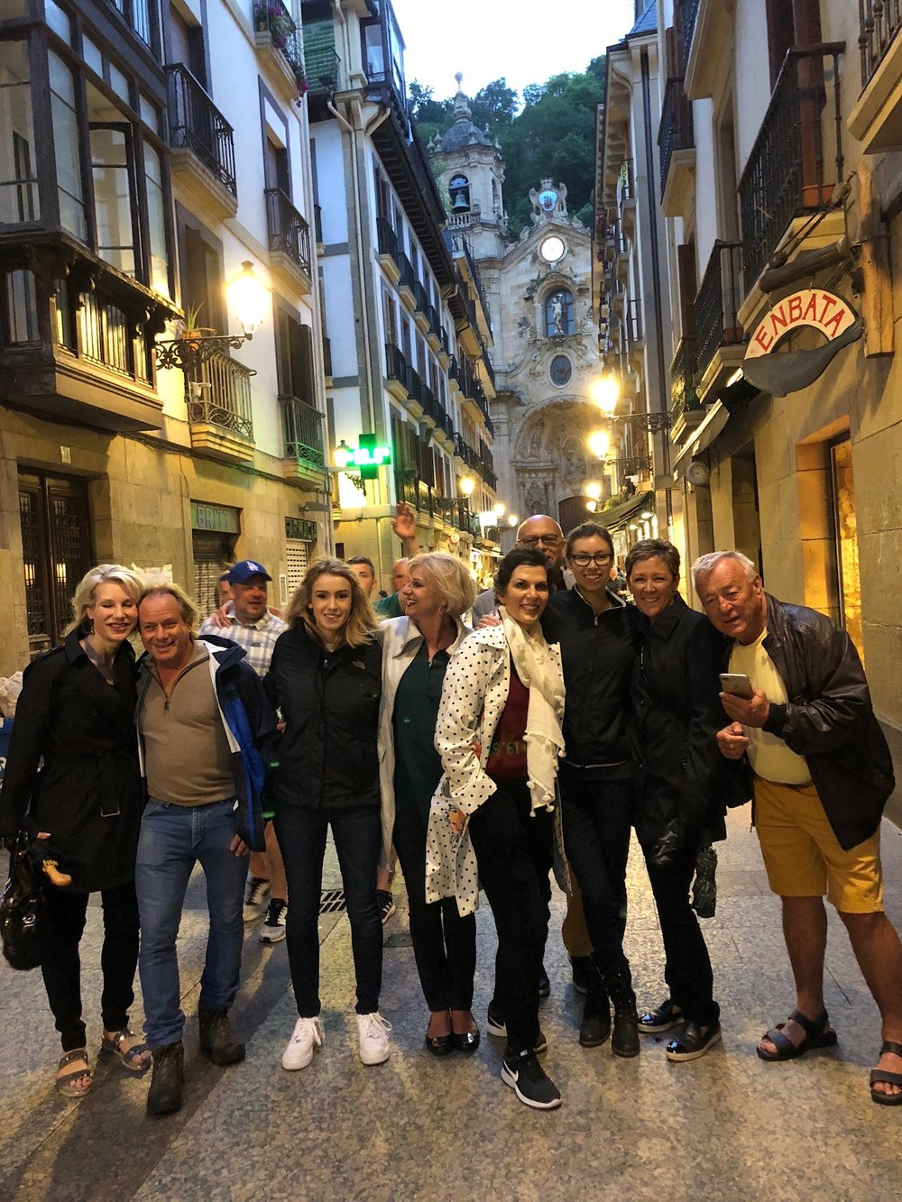 The Spain 2018 Travelers in San Sebastian
