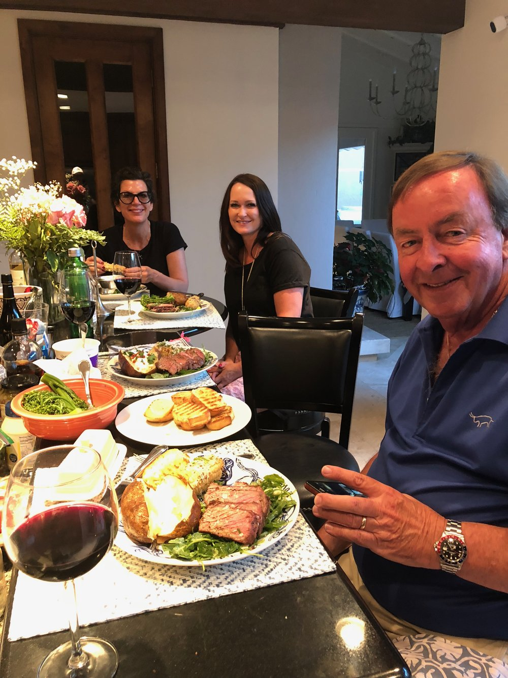 Dinner at Casa Candelaria June 2018