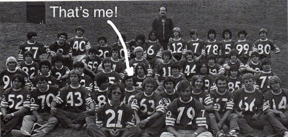 Varsity Football Team Durango High School 1978