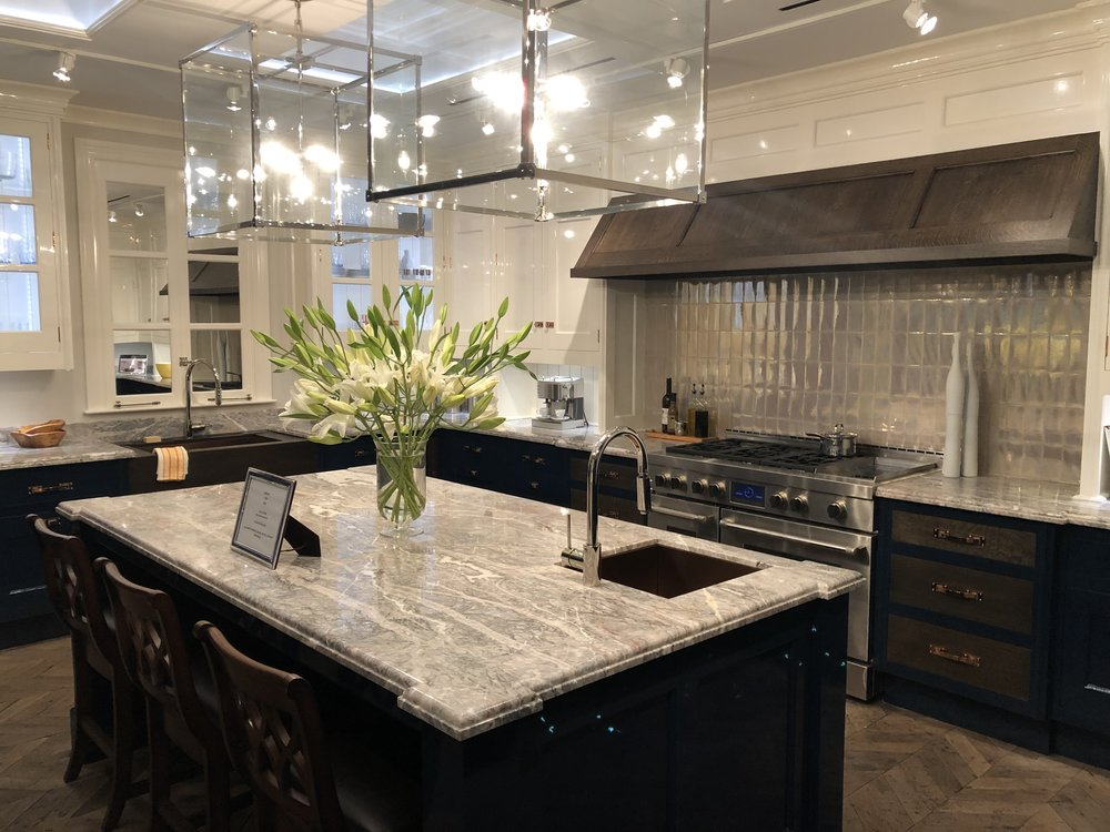 The Christopher Peacock Cabinetry Showroom in New York