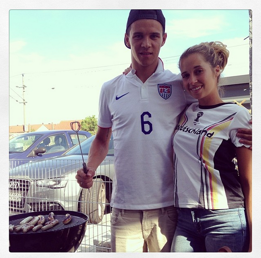 US Soccer Wags