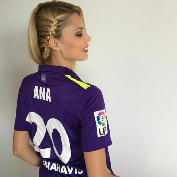 Sporting Gijon WAG Ana Kurobasa
