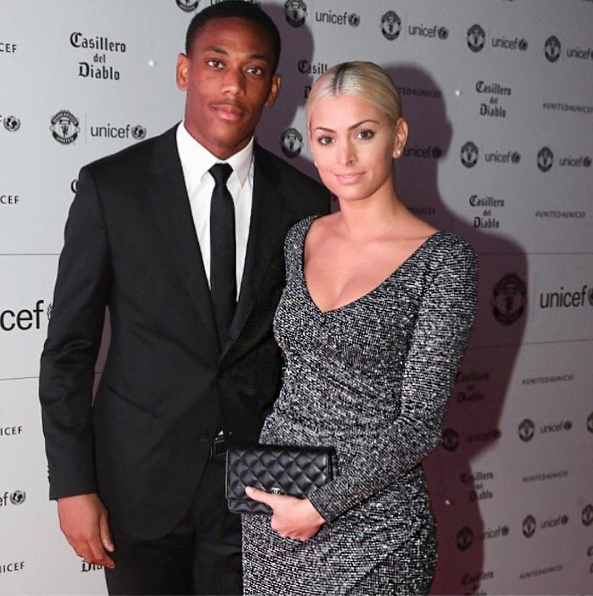 anthony martial WAG Melanie Da Cruz