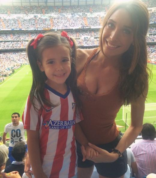 atletico madrid wag Patrizia Ruiz