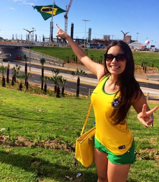 brazilian wag Clarice Alves