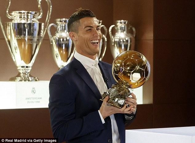 Cristiano Ronaldo 2016 Ballon d'Or