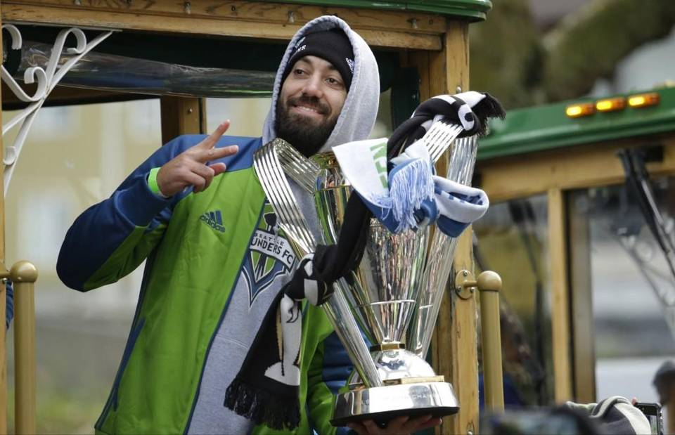 Clint Dempsey Seattle Sounders Parade