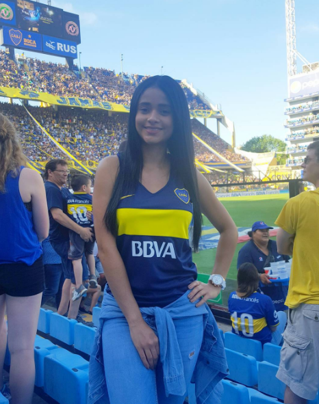 Tatiana Gomez boca juniors