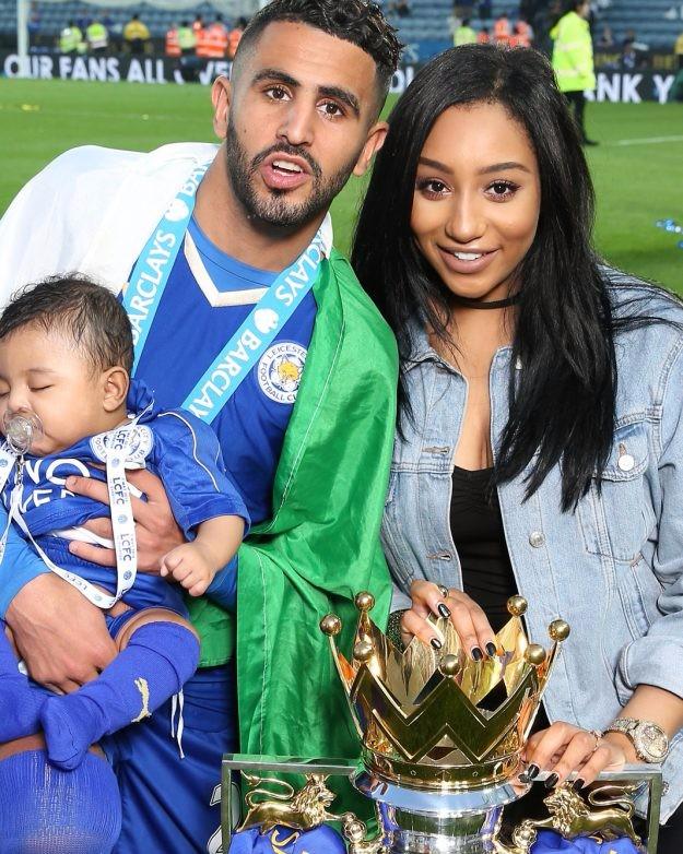 Leicester City WAGs Rita Mahrez
